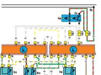 Устройство впрыска KE III-Jetronic (двигатель мощностью 100 КВт) 2