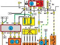 Система зажигания, реле топливного насоса