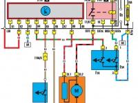 Вентилятор радиатора (работа после остановки двигателя)